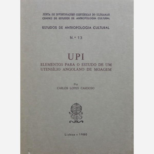 UPI Elementos para o estudo de um utensilio angolano de moagem