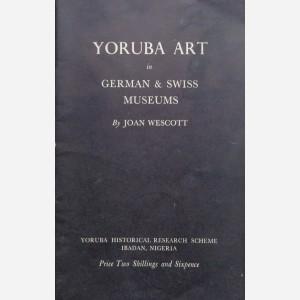 Yoruba Art in German & Swiss Museums