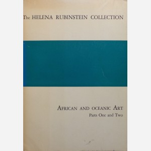 The Helena Rubinstein Collection : African Art. Parts One and Two