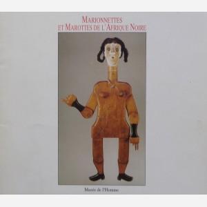Marionnettes et Marottes de l'Afrique Noire