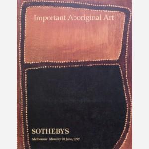 Sotheby's, Melbourne, 28/06/1999