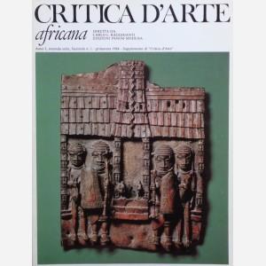 Critica d'Arte Africana