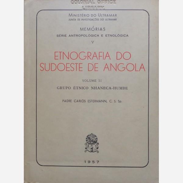 Etnografia do Sudoeste de Angola