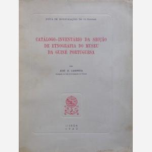 Catalogo-Inventario da secçao de etnografia do museu da Guiné portuguesa