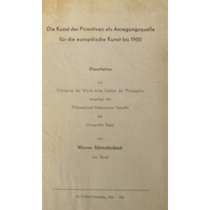 Die Kunst der Primitiven als Anregungsquelle für die europäische Kunst bis 1900