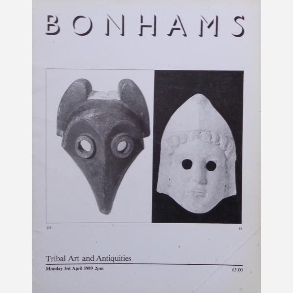 Bonhams, London, 03/04/1989
