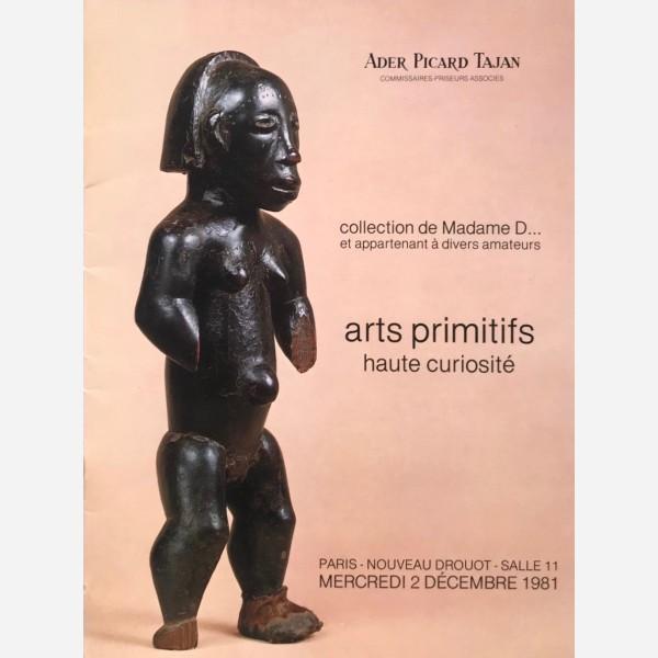 Ader Picard Tajan, Paris, 02/12/1981