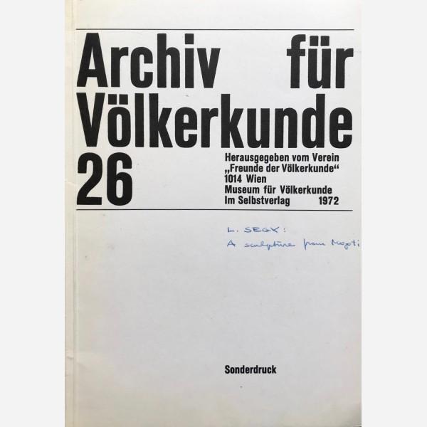 Archiv für Völkerkunde 26
