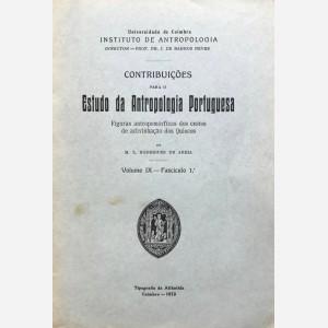 Contribuiçoes para o Estudo da Antropologia Portuguesa