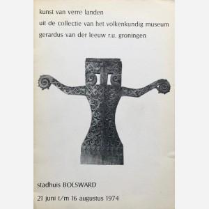 Kunst van verre landen uit de collectie van het volkenkundig museum gerardus van der leeuw r.u. groningen