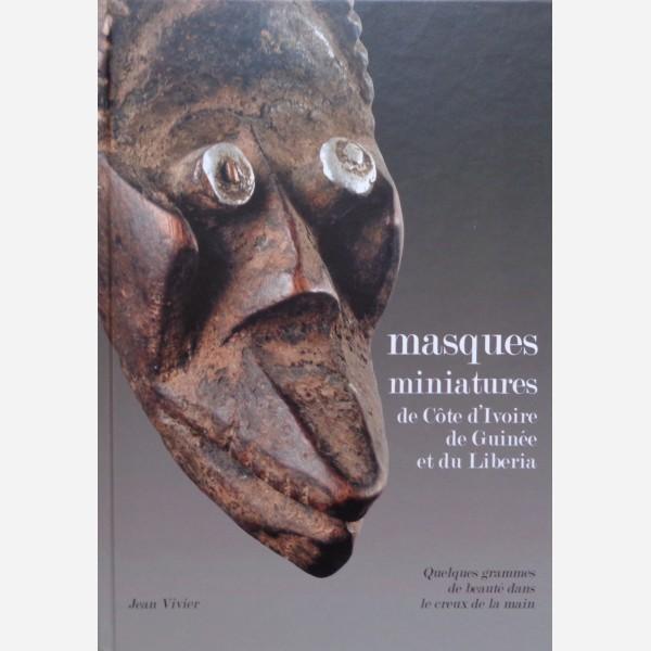 Masques miniatures de Côte d'Ivoire de Guinée et du Liberia