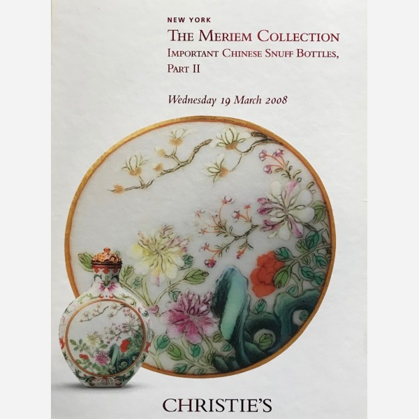 Christie's, New York, 19/03/2008