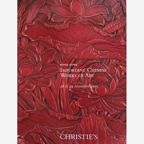 Christie's, Hong Kong, 28 & 29/11/2005