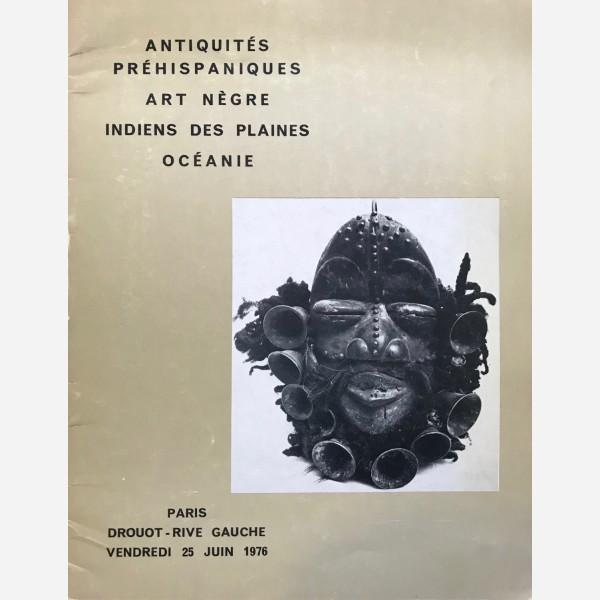 Drouot - Rive Gauche, Paris, 25/06/1976