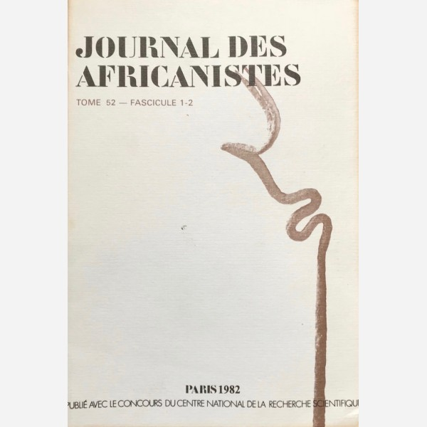 Journales Africanistes