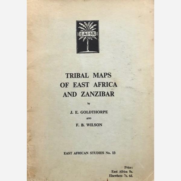 Tribal Maps of East Africa and Zanzibar