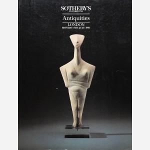 Sotheby's, London, 08/07/1991