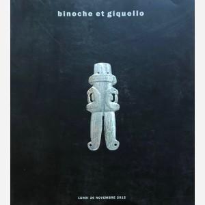 Binoche et Giquello, Paris, 26/11/2012