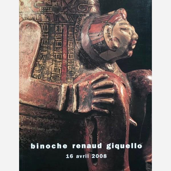 Binoche Renaud Giquello, Paris, 16/04/2008