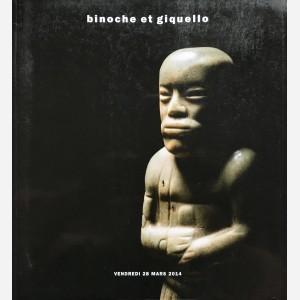 Binoche et Giquello, Paris, 28/03/2014