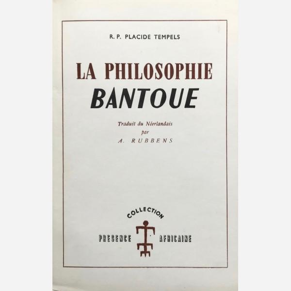 La Philosophie Bantoue