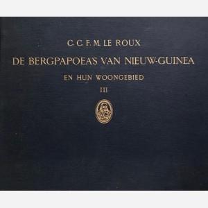 De Bergpapea's van Nieuw-Guinea en Hun Woongebied I, II, III