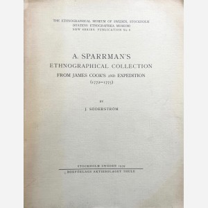 A. Sparrman's Ethnographical Collection from James Cook's 2nd Expedition (1772-1775)