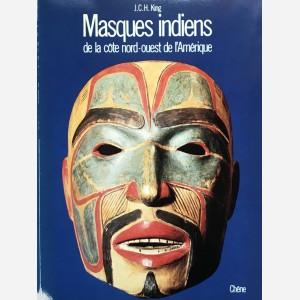 Masques indiens de la côte nord-ouest de l'Amérique
