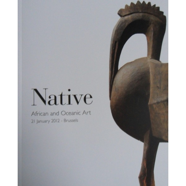 Native African and Oceanic Art 21/01/12 Brussels
