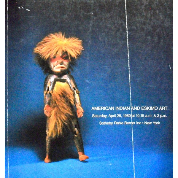 Sotheby's American Indian and Eskimo Art